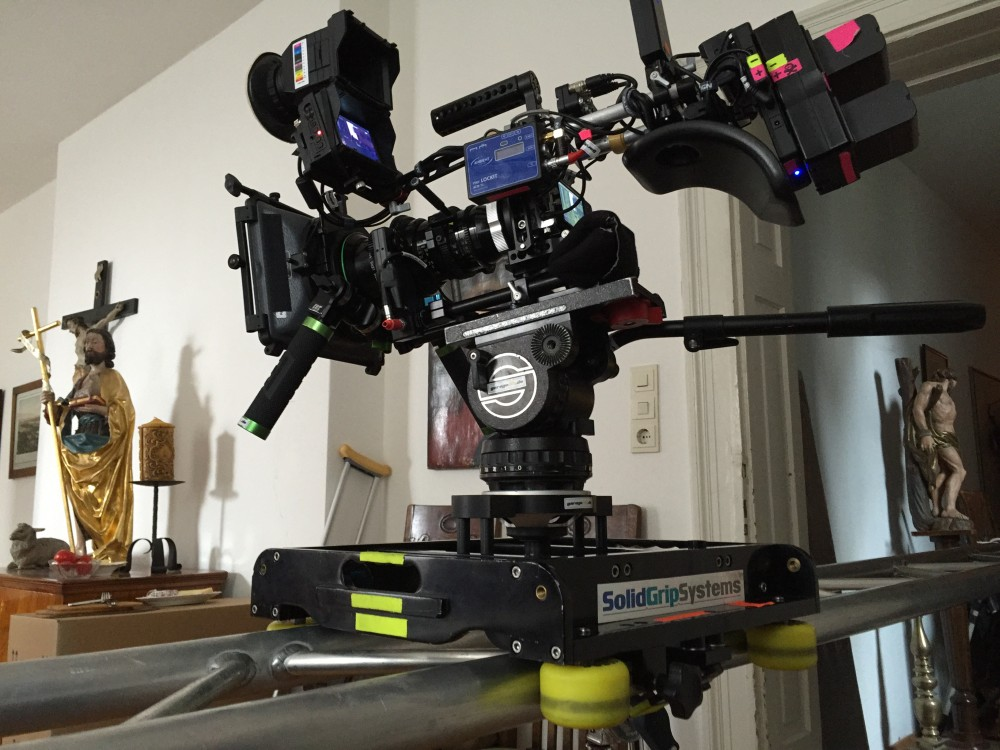 Blackmagic Pocket auf Slider